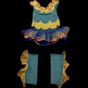 Blue Dance Costume | CSM | Curtain Call Costumes
